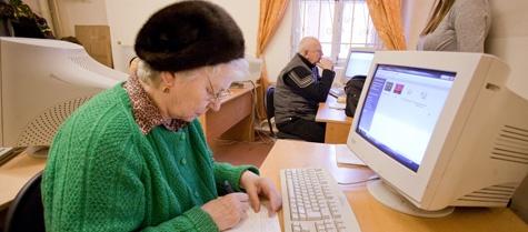 Дедушка он-лайн